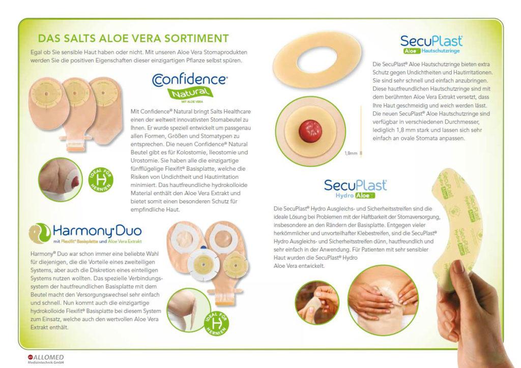 Erklärungen zum Aloe Vera Sortiment